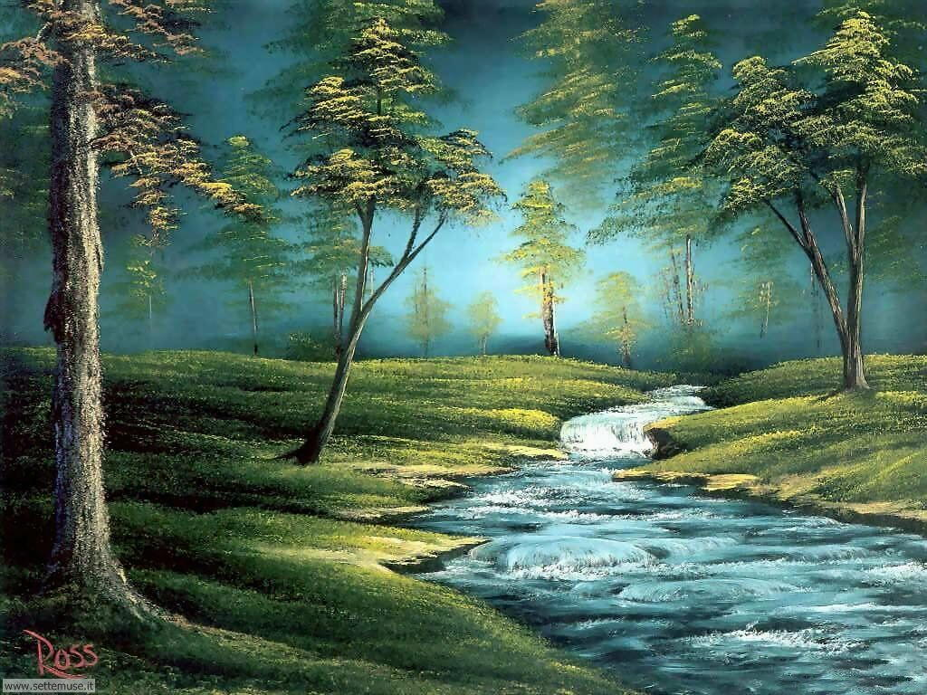 Foto paesaggi dipinti per sfondi for Paesaggi naturali hd