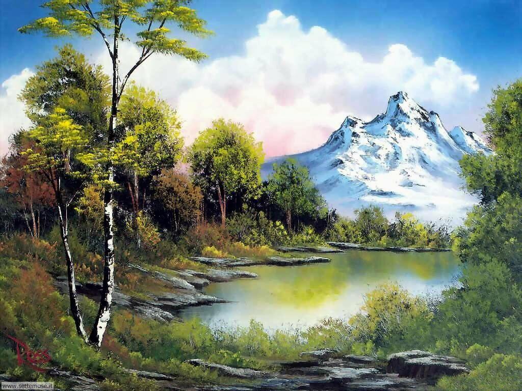 Foto paesaggi dipinti per sfondi for Foto paesaggi gratis