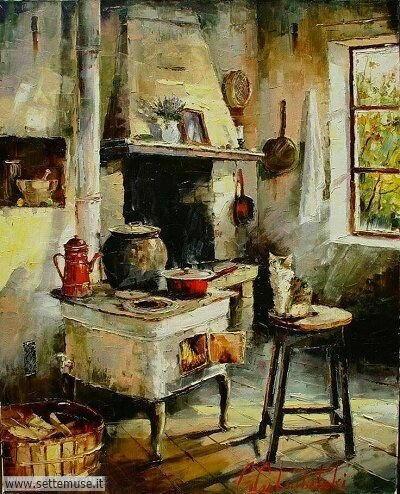 arte e dipinti su foto-ambienti-Gleb Goloubetski2