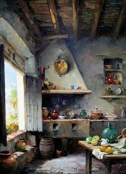arte e dipinti su foto-ambienti Manuel Fernandez Garcia