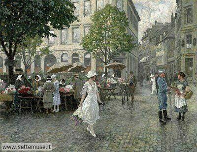 arte e dipinti su foto-ambienti Paul Gustave Fischer
