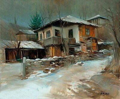 arte e dipinti su foto ambienti-Vasil Vasilev