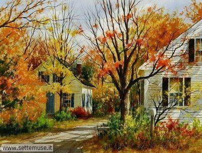 arte e dipinti su foto-autunno Gary Shepard