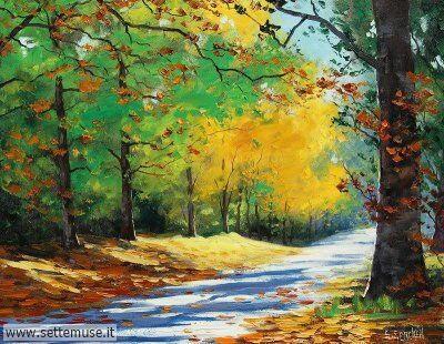 arte e dipinti su foto-autunno Graham Gercken