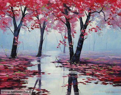 arte e dipinti su foto-autunno Graham Gercken 2