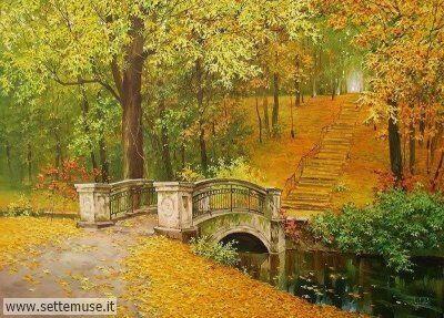 arte e dipinti su foto-autunno Oleg Shcherbakov