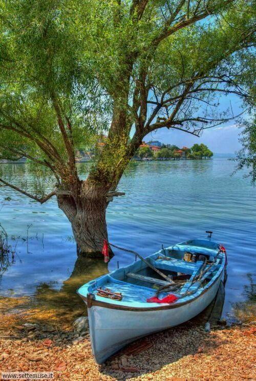 arte e dipinti su foto barche-12