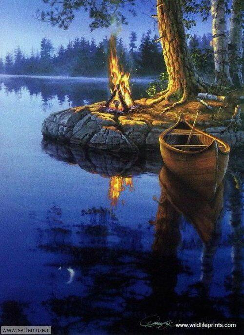arte e dipinti su foto barche-15
