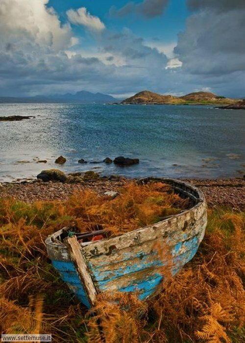 arte e dipinti su foto barche-21