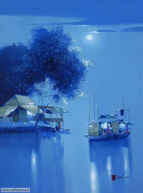 arte e dipinti su foto Dang Can