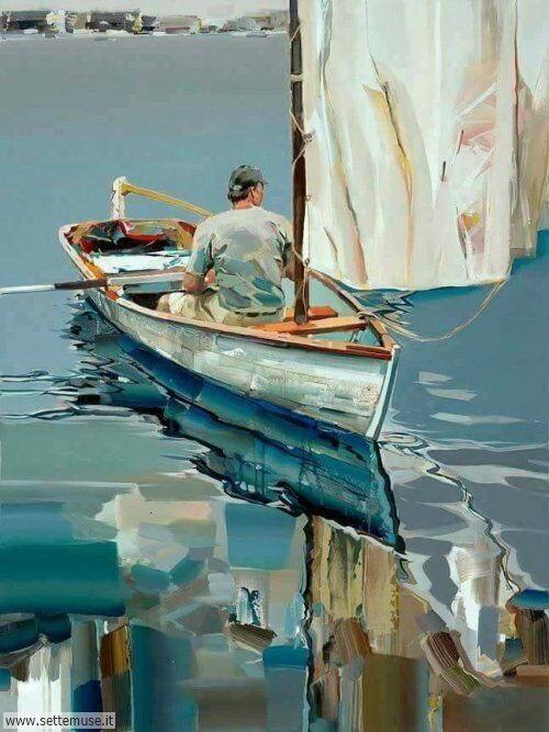 arte e dipinti su foto Josef Kote