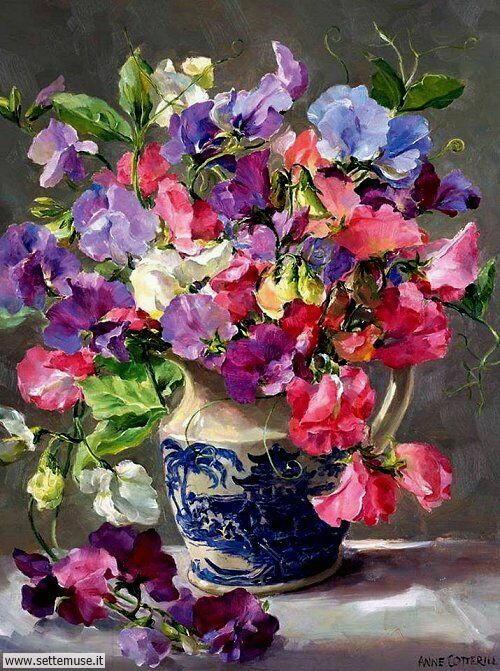 arte e dipinti su foto Anne Cotterill