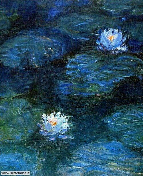 arte e dipinti su foto Claude Monet