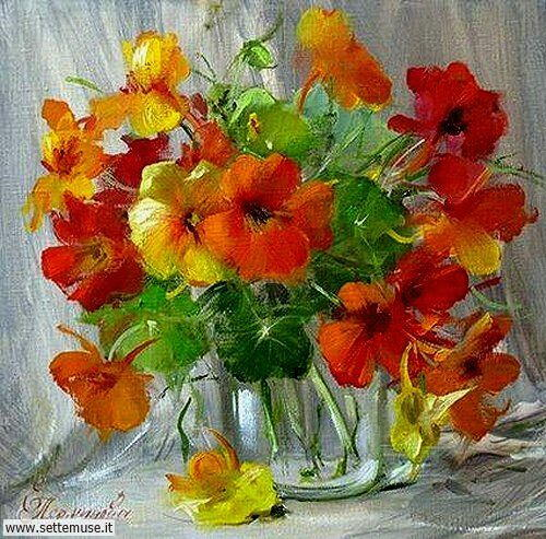 arte e dipinti su foto Elena Perminova