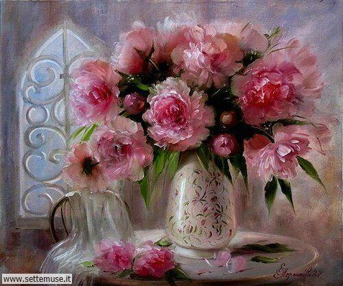 arte e dipinti su foto Elena Perminova 3
