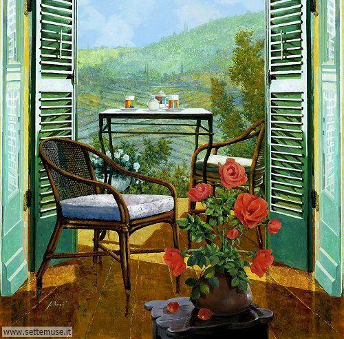 arte e dipinti su foto-ambienti Guido Borelli 1