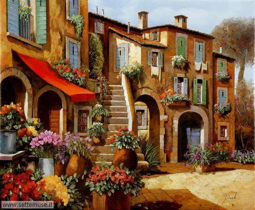arte e dipinti su foto-ambienti Guido Borelli 10