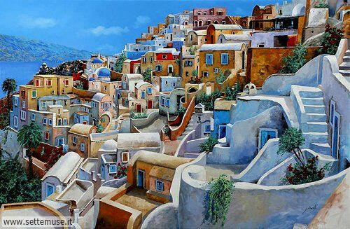 arte e dipinti su foto-ambienti Guido Borelli 11