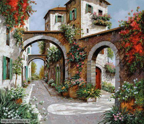 arte e dipinti su foto-ambienti Guido Borelli 12