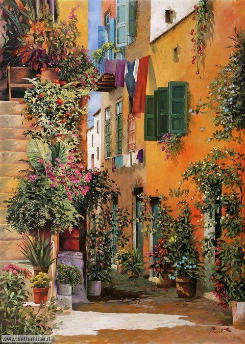 arte e dipinti su foto-ambienti Guido Borelli 13
