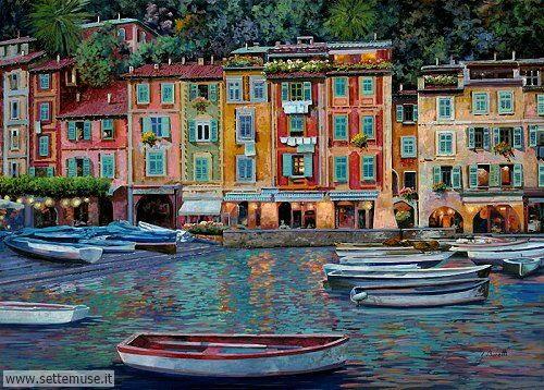 arte e dipinti su foto-ambienti Guido Borelli 2