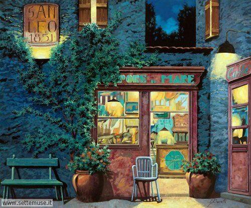 arte e dipinti su foto-ambienti Guido Borelli 5