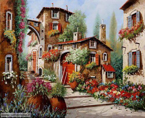 arte e dipinti su foto-ambienti Guido Borelli 6