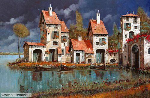 arte e dipinti su foto-ambienti Guido Borelli 7