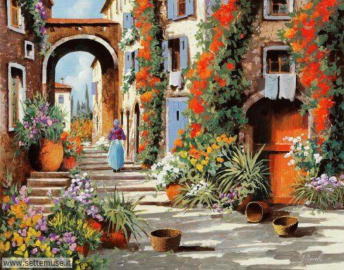 arte e dipinti su foto-ambienti Guido Borelli 8