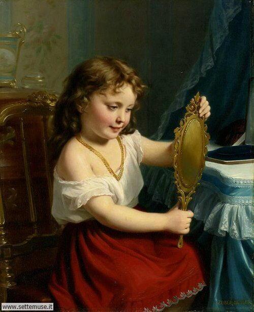 arte e dipinti su mamme-e-bambini-02