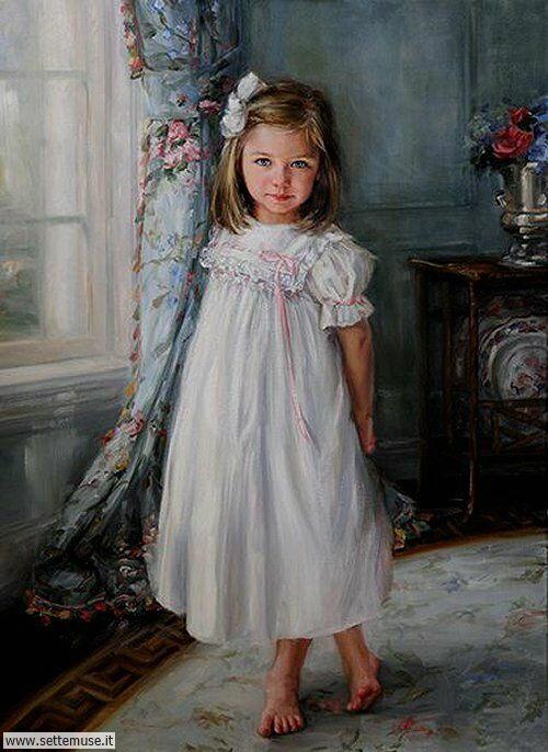 arte e dipinti su mamme-e-bambini-06