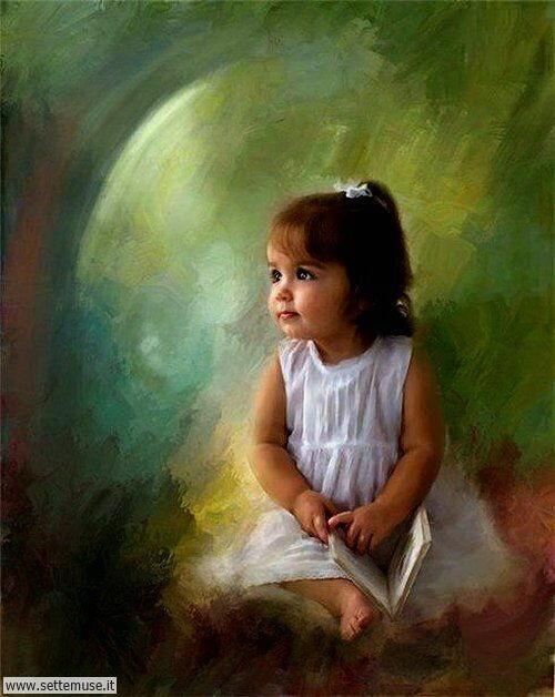 arte e dipinti su mamme-e-bambini-09