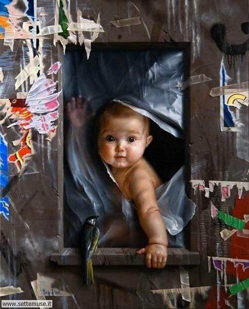 arte e dipinti su mamme-e-bambini-21