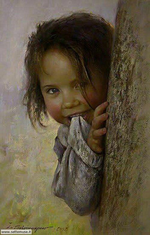 arte e dipinti su mamme-e-bambini-Javad Soleimanpour Atolyesi