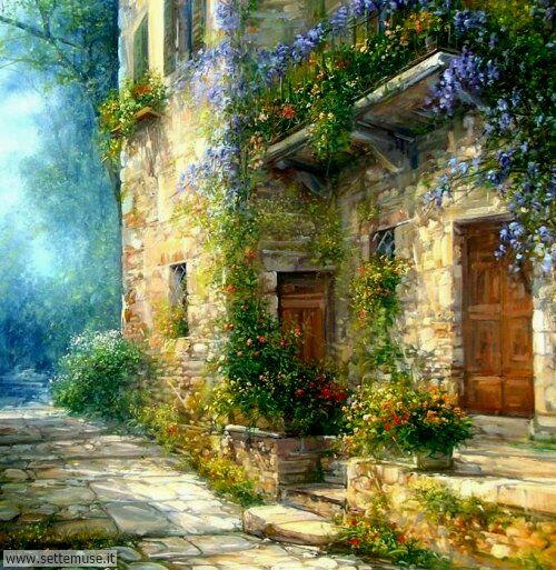 arte e dipinti su foto_paesaggi Antonietta Varallo