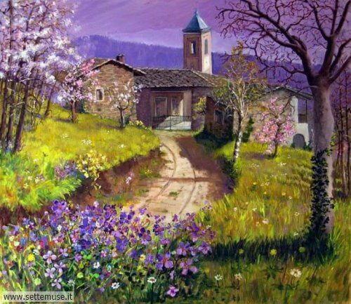 arte e dipinti su foto_paesaggi Bruno Vallino