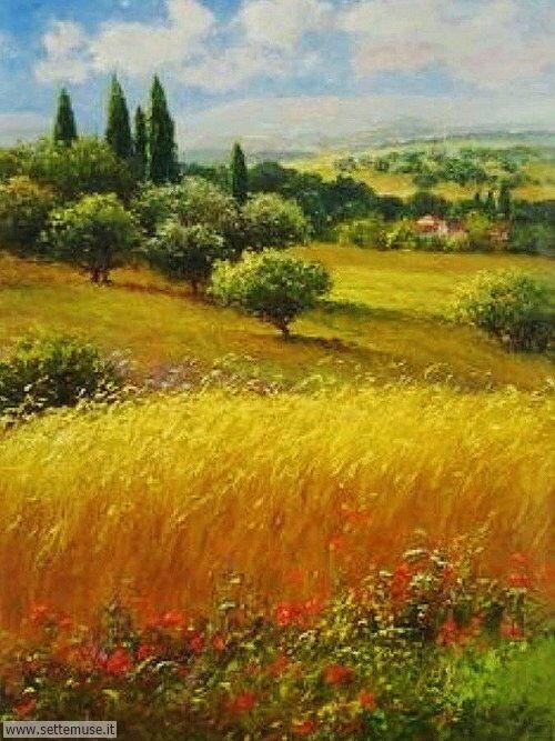 arte e dipinti su foto_paesaggi Claude Monet 3