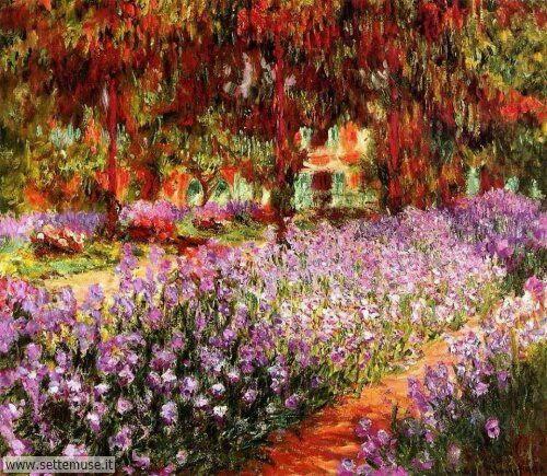 arte e dipinti su foto_paesaggi Claude Monet 7