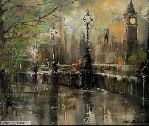 arte e dipinti su foto_paesaggi Ewa Czarnecka