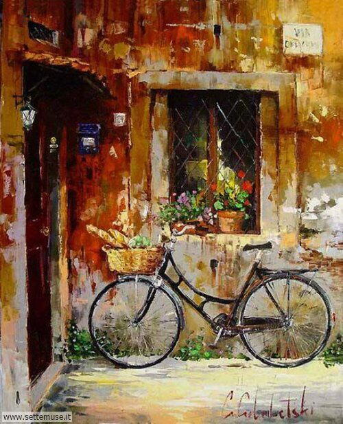 arte e dipinti su foto_paesaggi Gleb Goloubetski