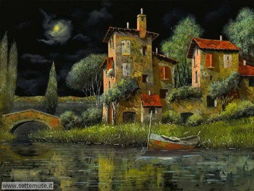 arte e dipinti su foto_paesaggi Guido Borelli 2