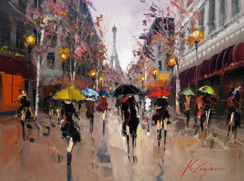arte e dipinti su foto_paesaggi Kal Gajoum