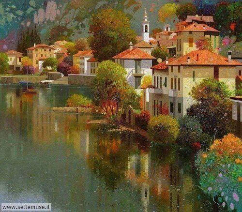 arte e dipinti su foto_paesaggi Pedro Roldan Molina