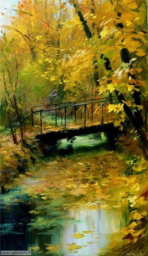 arte e dipinti su foto_paesaggi Serguei Toutounov