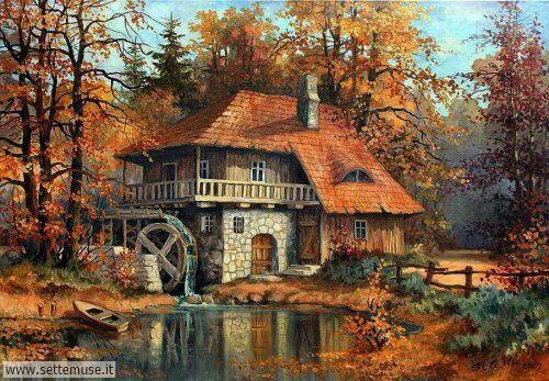 arte e dipinti su foto_paesaggi Stanislave Wilk