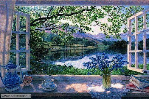 arte e dipinti su foto_paesaggi Stephen Darbishire