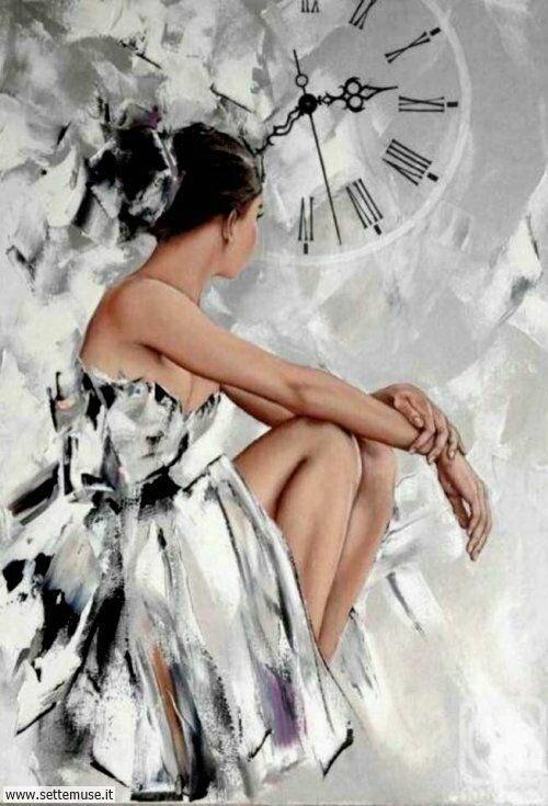 arte e dipinti su ritratti-femminili Alexander Gunin 2