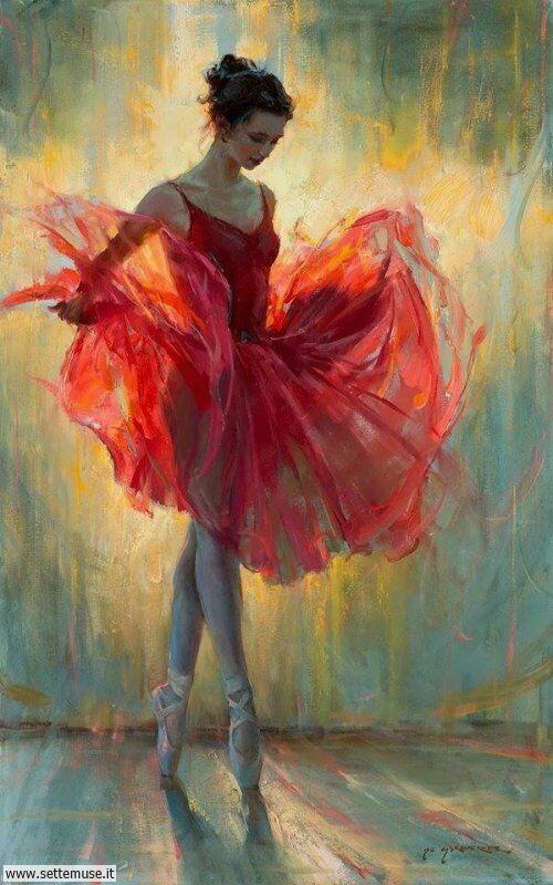 arte e dipinti su ritratti-femminili Daniel F. Gerhartz 4