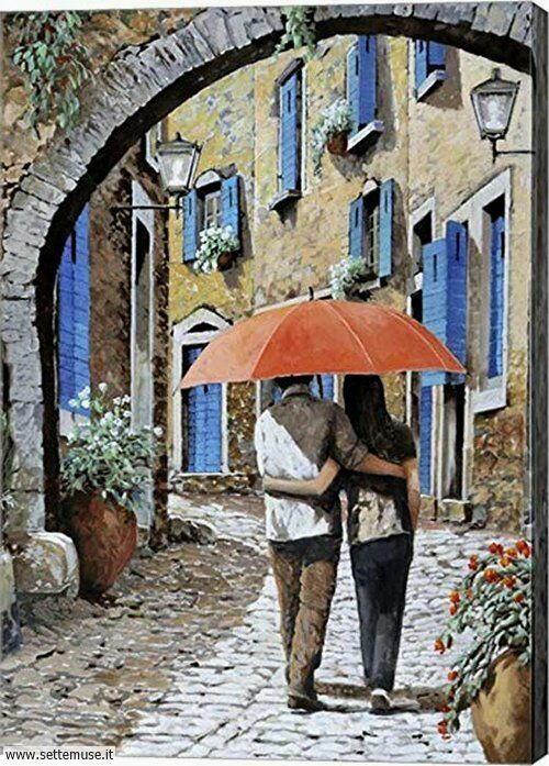 arte e dipinti su foto-ambienti romanticismo 05
