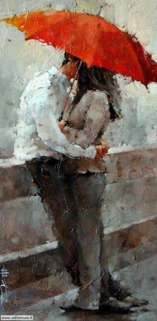 arte e dipinti su foto-romanticismo Andre Kohn 3